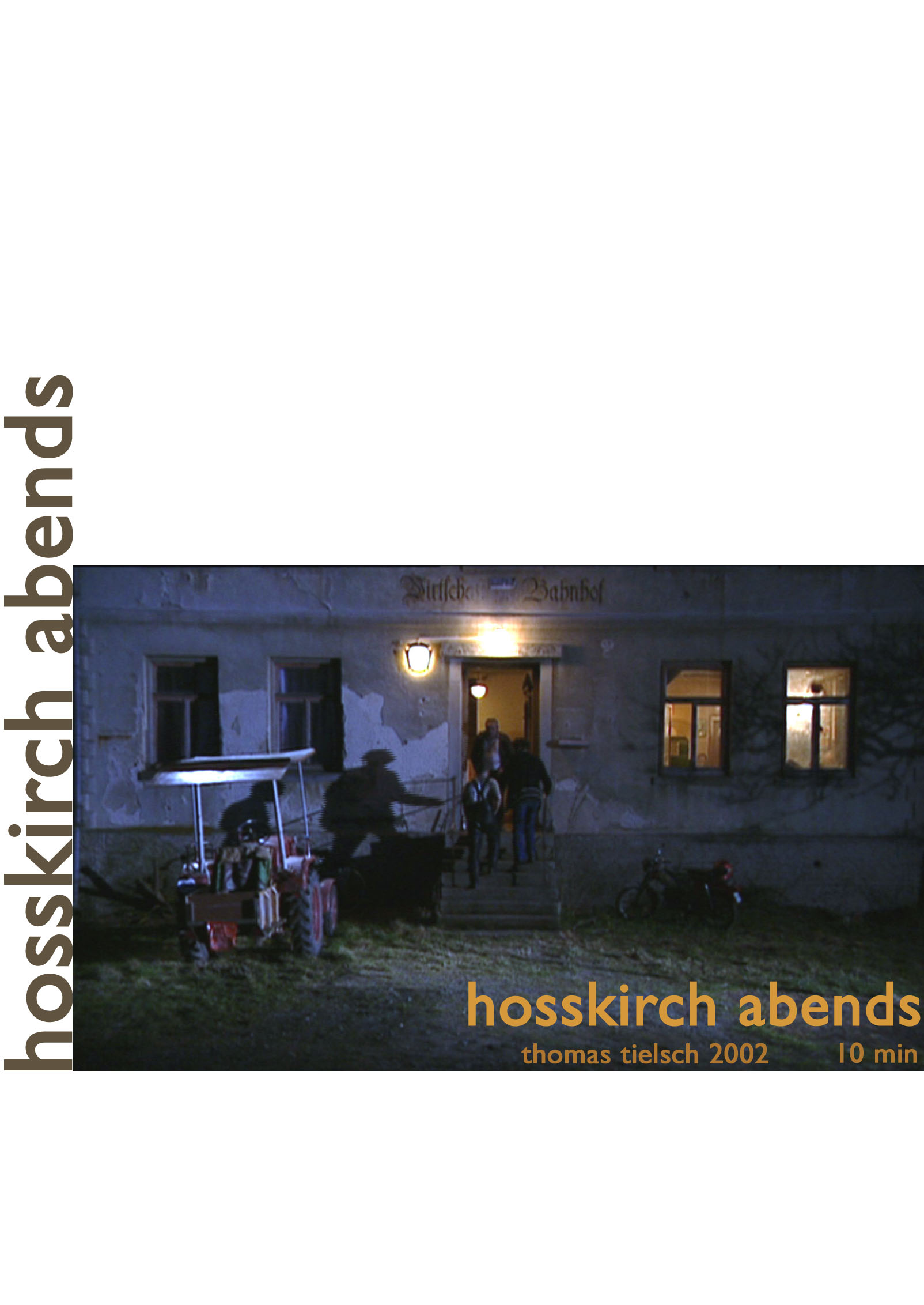 hosskirch Abends_DVD Cover