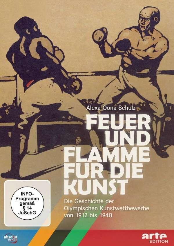 Feuer und Flamme für die Kunst_DVD-Cover
